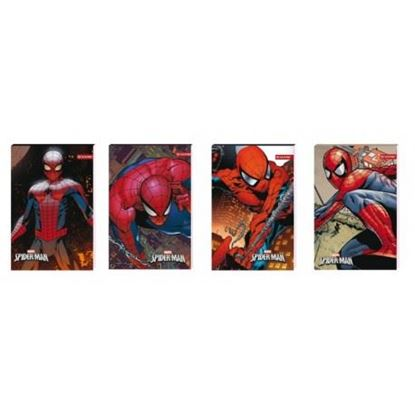 Picture of NOTES A6 SPIDER-MAN 5692 Z PODDRUKIEM